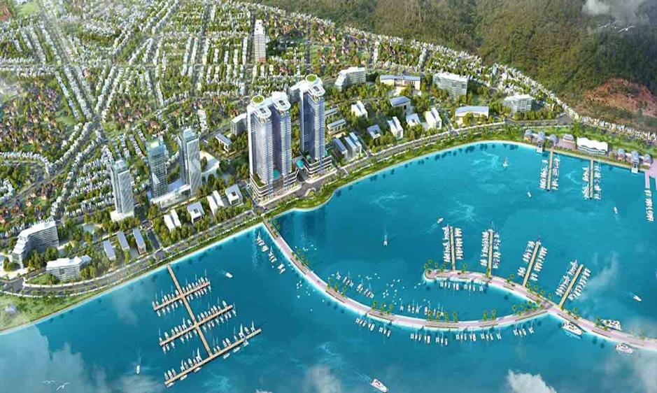 Công viên bến du thuyền quốc tế Ana Marina Park – một trong những dự án cao cấp của Crystal Bay tại Nha Trang